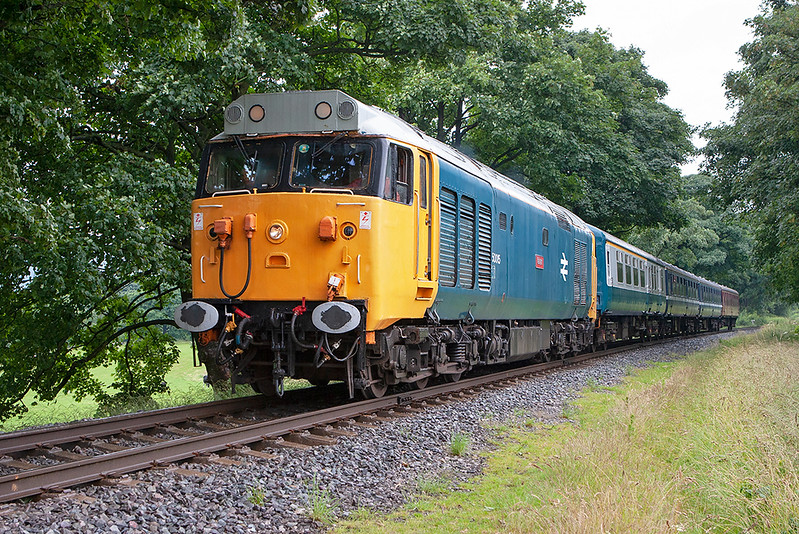 50015 Walmersley 5/7/2008<br /> 2F68 1134 Ramsbottom-Bury Bolton Street