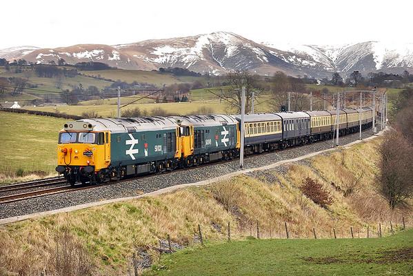 50031 and 50049, Docker 7/3/2005 1Z26 0956 Dalmuir-Swindon