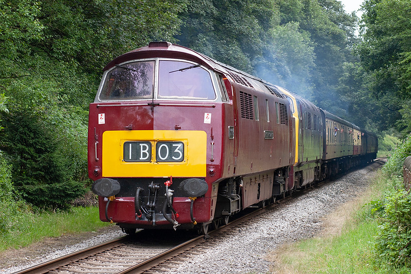 D1015 and D832, Summerseat 8/7/2007<br /> 1J81 1355 Heywood-Rawtenstall