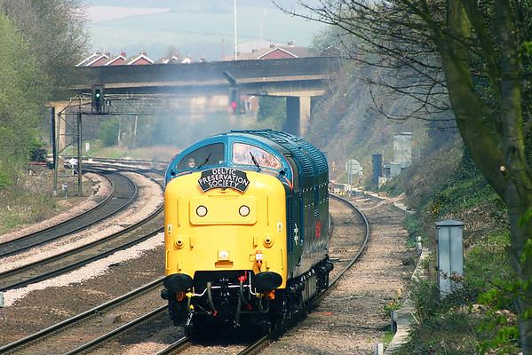 55019 Chesterfield 22/4/2005 0Z55 1200 Barrow Hill-Ferme Park