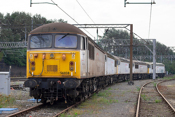 56038, 56031, 56106, 56069 and 56074, Crewe 12/8/2012