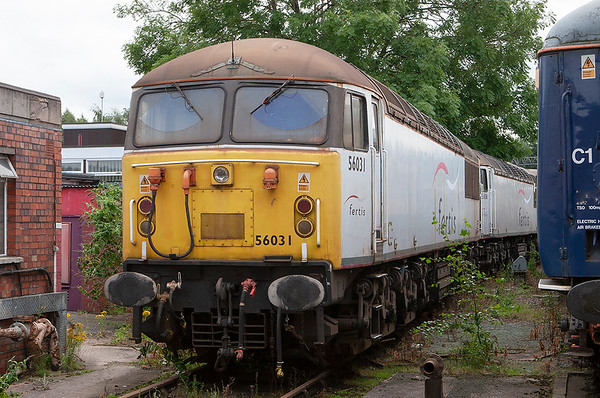 56031 and 56106, Crewe 11/7/2009
