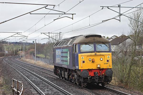 57007 Carluke 15/3/2013 0Z87 1008 Motherwell TMD-Carlisle Kingmoor