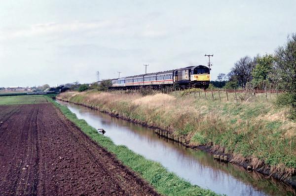 58009 Scarisbrick 25/4/1992 1T36 1030 Manchester Victoria-Manchester Victoria (via Southport)