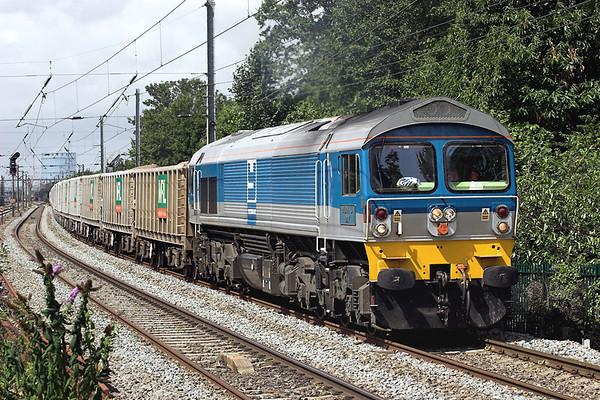 59002 Hanwell 15/7/2009 7A09 0712 Merehead-Acton Yard