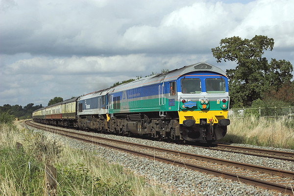 59005 and 59104, Rowton 13/9/2008 1Z59 0700 Cranmore-Crewe