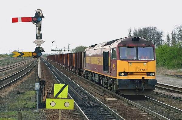 60003 Barnetby 12/4/2005 6K23 1135 Santon-Immingham Ore Terminal