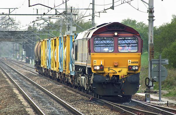 66008 Acton Bridge 21/4/2005 6F61 Folly Lane-Warrington Arpley