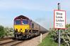 66145 North Kelsey Moor 16/5/2014<br /> 6B38 0807 Immingham Dock-West Burton PS