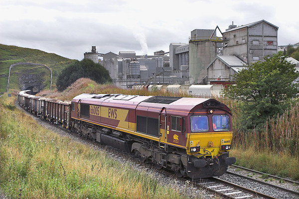 66005 Tunstead 22/9/2011 6H65 1255 Dowlow-Ashburys