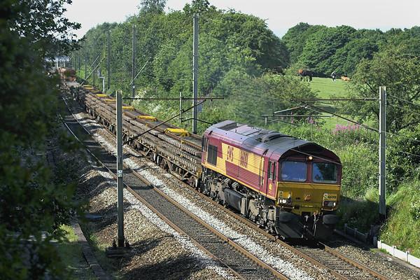 66001 Charnock Richard 14/7/2011 6K05 1218 Carlisle Yard-Basford Hall
