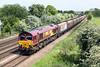 66181 Melton Ross 16/5/2014<br /> 6F59 1245 Immingham Dock-Cottam PS