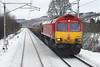 66101 Beattock 22/1/2013<br /> 6M49 0808 Mossend Down Yard-Carlisle Yard