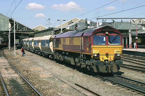 66002 Crewe 14/5/2005 6Z50 1047 Penmaenmawr-Acton Yard