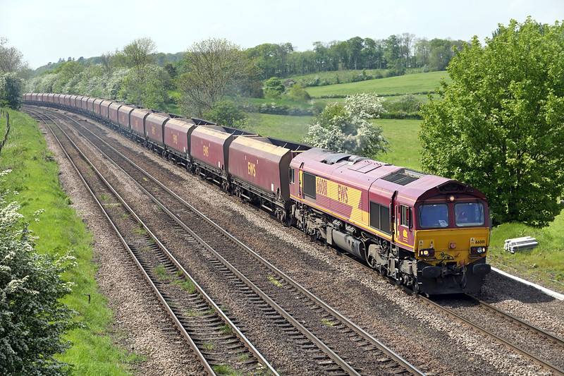 66081 Melton Ross 16/5/2014<br /> 4R15 0635 West Burton PS-Immingham Dock