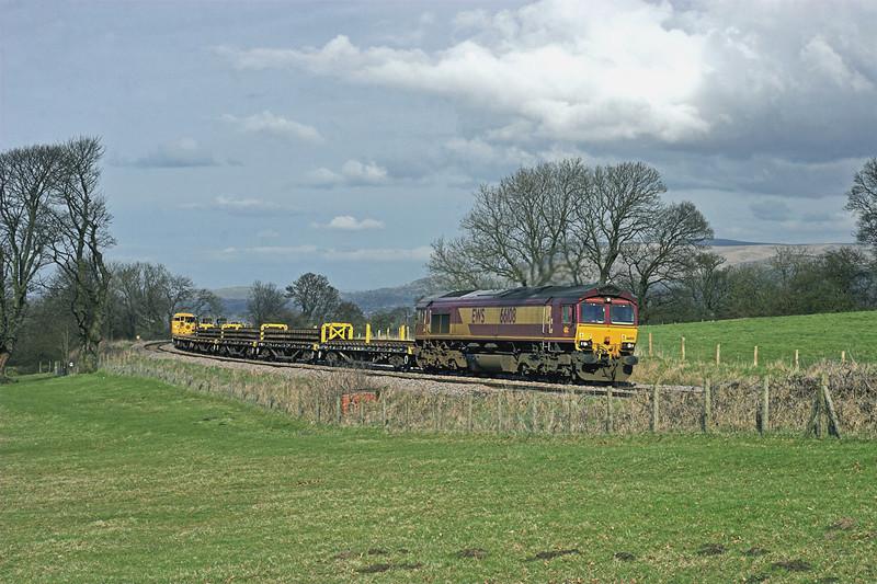 66108 Wilpshire 7/4/2010<br /> 6K05 1221 Carlisle Yard-Basford Hall