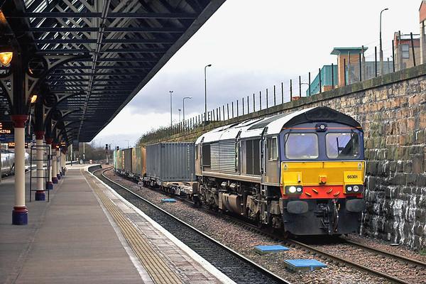 66301 Dundee 25/1/2012 4A13 1220 Grangemouth-Aberdeen