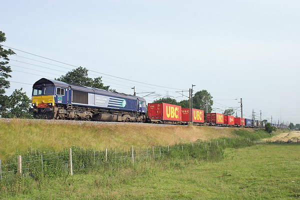 66301 Catterall 12/7/2013 4M34 0428 Coatbridge-Daventry