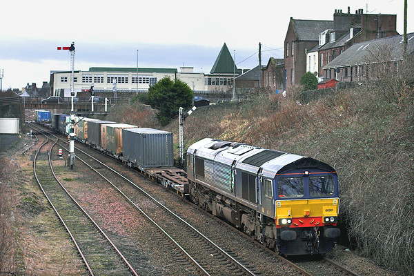 66301 Arbroath 25/1/2012 4A13 1220 Grangemouth-Aberdeen