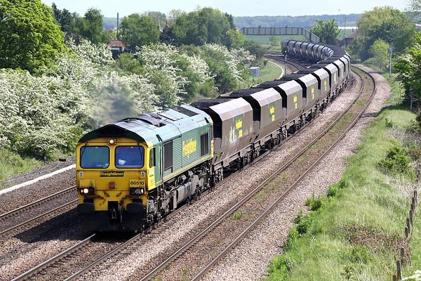 66510 Melton Ross 16/5/2014 6M51 1145 Immingham Dock-Rugeley PS
