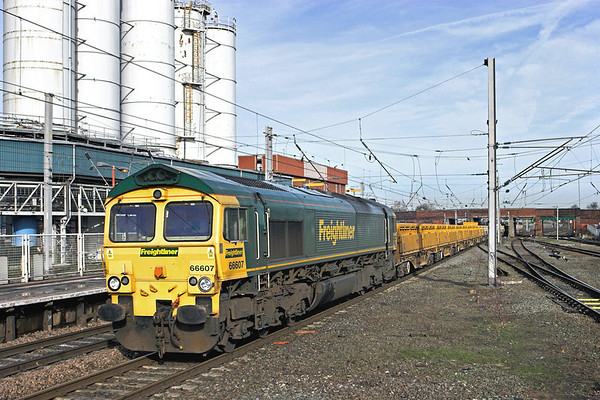 66607 Warrington Bank Quay 24/2/2011 6Z23 0716 Carlisle Yard-Mountsorrel