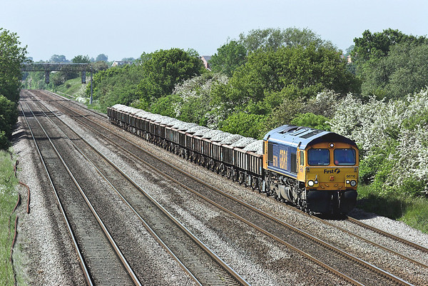 66710 Cossington 2/6/2006 6T78 1548 Mountsorrel-Whitemoor Yard