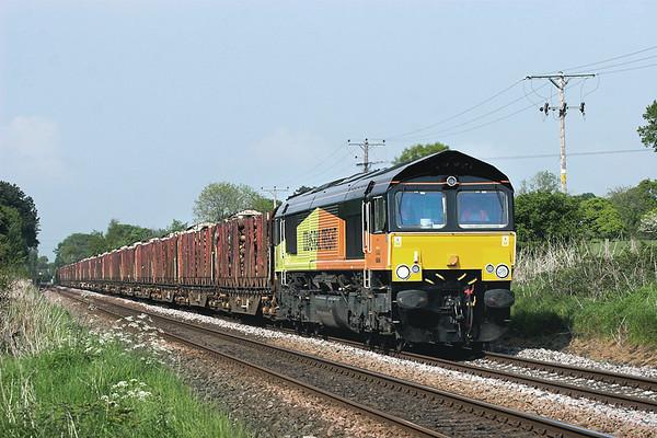 66846 Mintholme 24/5/2012 6J37 1244 Carlisle Yard-Chirk