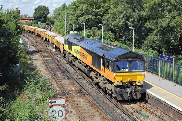 66847 Staines 7/8/2014 6Y41 0902 Eastleigh East Yard-Hoo Junction