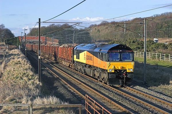66843 Woodacre 1/3/2010 6J37 1251 Carlisle Yard-Chirk