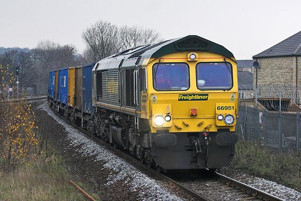 66951 Mirfield 18/11/2010 6E06 0932 Bredbury-Roxby Gullet
