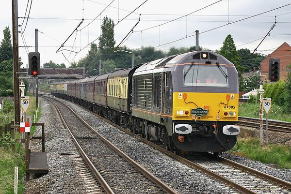 67005 Leyland 2/7/2005 1Z62 0550 Bristol Temple Meads-Carlisle