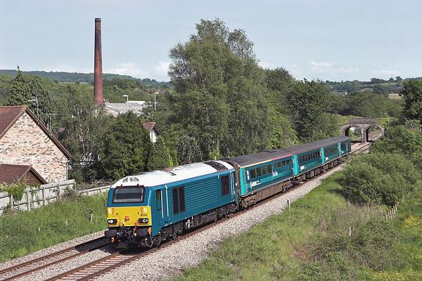 67002 Ponthir 29/5/2012 1W91 1615 Cardiff Central-Holyhead