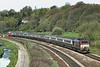 67027 and 67018, Lostock 17/4/2011<br /> 5Z33 0836 Preston-Bolton