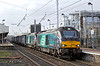 68004 and 68018, Warrington Bank Quay 7/3/2017<br /> 4S43 0616 Daventry-Mossend