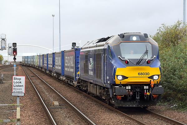 68030 Dundee 9/10/2017 4A13 1350 Grangemouth-Aberdeen