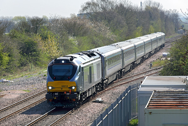 68013 Bicester North 14/4/2015 1G25 1045 London Marylebone-Birmingham Snow Hill