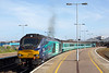 68003 and 68022, Great Yarmouth 23/5/2017<br /> 2P29 1717 Great Yarmouth-Norwich