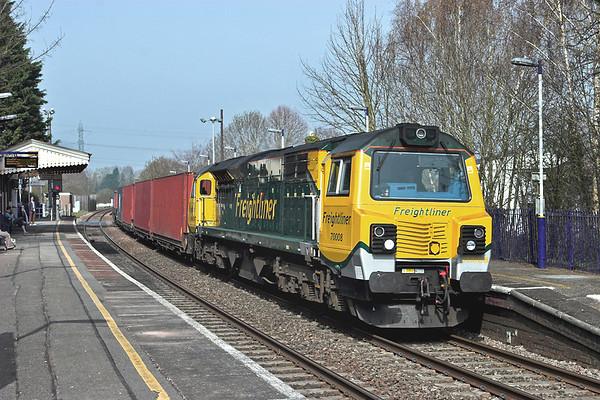 70008 Bramley 30/3/2012 4O51 0958 Wentloog-Southampton MT