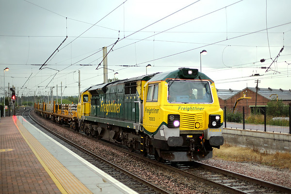 70003 Warrington Bank Quay 12/7/2014 6X04 2017 Crewe Gresty Bridge-Oxenholme