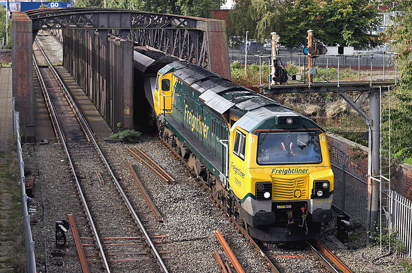 70015 Warrington Latchford 9/10/2012 6F02 1207 Ellesmere Port-Fiddlers Ferry PS