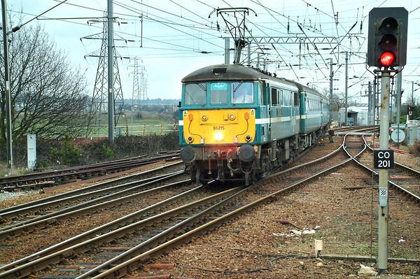 86215 Manningtree 26/1/2004