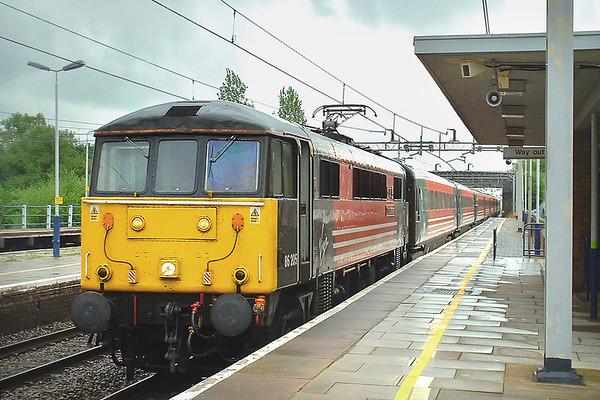 86205 Cheddington 2/5/2003 1C15 1125 London Euston-Lancaster