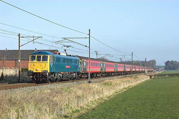 86101 Brock 24/3/2007 1Z43 0633 Carlisle-Holyhead