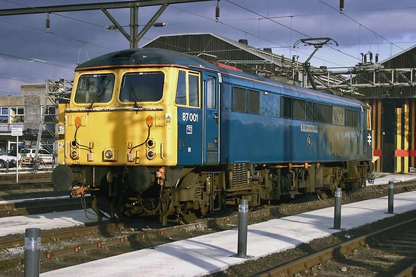 87001 Willesden TMD 3/3/2005