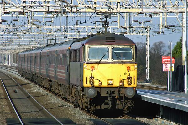 87002 Cheddington 13/1/2005 1B42 1106 Wolverhampton-London Euston