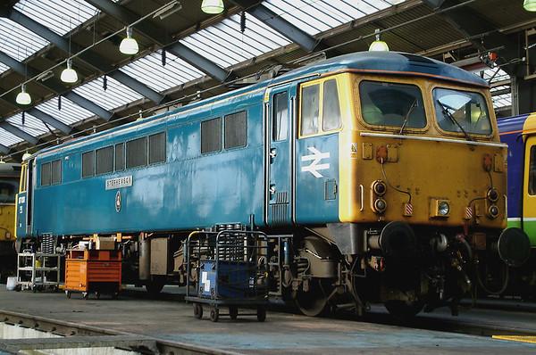 87001 Willesden TMD 10/1/2004