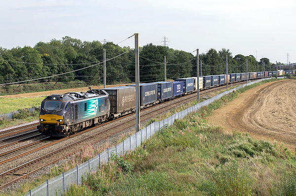 88005 Winwick Junction 15/9/2020 4S44 1216 Daventry-Mossend Yard
