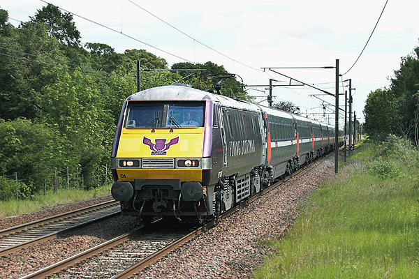 91101 Longniddry 1/7/2011 1S05 0700 London Kings Cross-Edinburgh