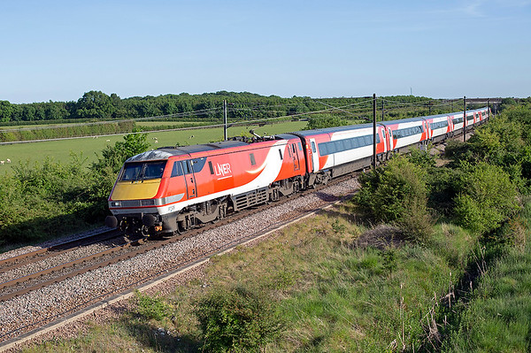 91105 Bolton Percy 29/5/2020 1S25 1630 London Kings Cross-Edinburgh