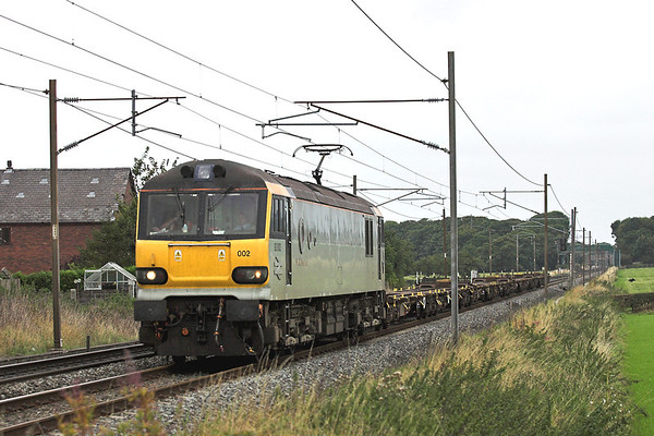 92002 Brock 7/9/2005 4Z93 1230 Carnforth-Crewe Sydney Bridge
